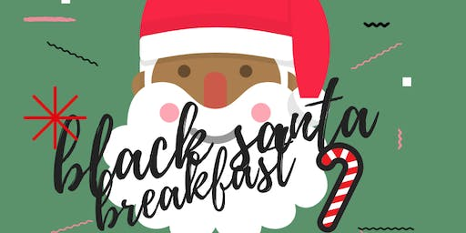 Black Santa Breakfast