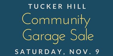 Fall 2019 Community Garage Sale tickets