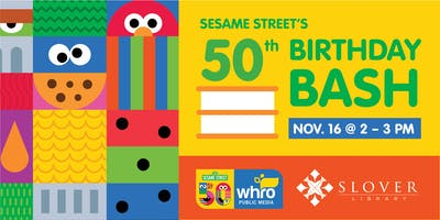 Sesame Street's 50th Birthday Bash