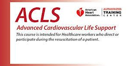 ACLS Two Day Course - Dec. 3-4, 2020 tickets