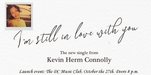 Kevin Herm Connolly (plus band): new single launch event