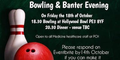 Bowling and Banter Evening