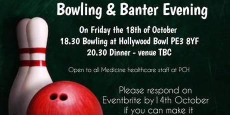 Bowling and Banter Evening  tickets