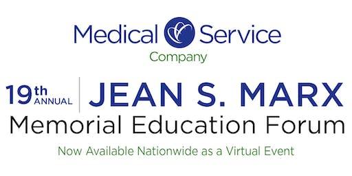 2019 Jean S. Marx Memorial Educational Forum