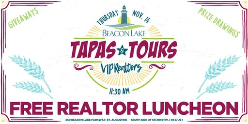 Beacon Lake Tapas & Tours 3 - Realtor-Only Luncheon Event