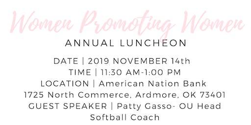 Women Promoting Women Annual Luncheon