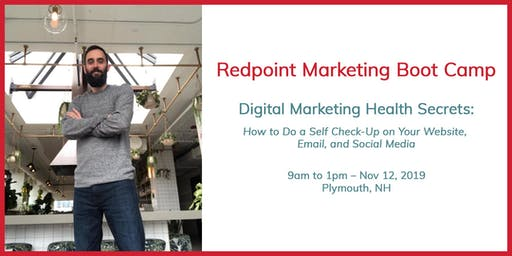 Digital Marketing Boot Camp: Self-Audit Your Website, Email, & Social Media