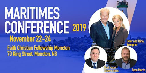 Maritimes Conference with Peter and Taina Youngren