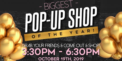 Biggest Pop-Up Shop of the year