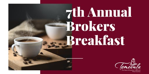 City of Temecula Brokers Breakfast