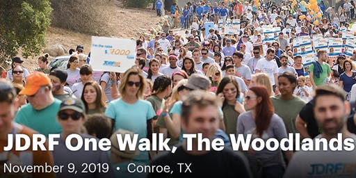 JDRF One Walk, The Woodlands 2019