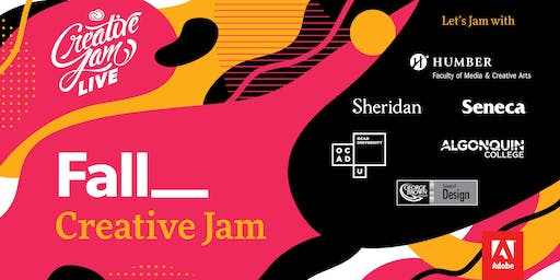 Greater Toronto Area & Ottawa Colleges + Adobe XD Creative Jam LIVE