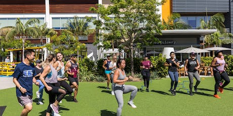 F45 Manhattan Beach x lululemon pop-up bootcamp tickets