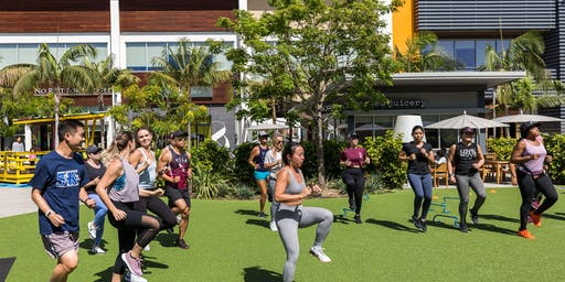 F45 Manhattan Beach x lululemon pop-up bootcamp