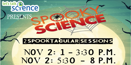 Spooky Science 2019 tickets