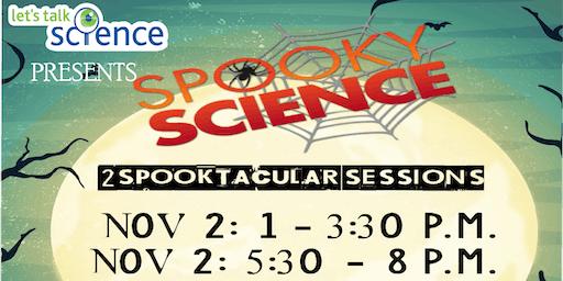 Spooky Science 2019