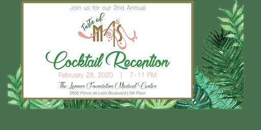 Taste of MAS Cocktail Reception