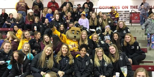 Gopher Game with East Ridge Girls Hockey