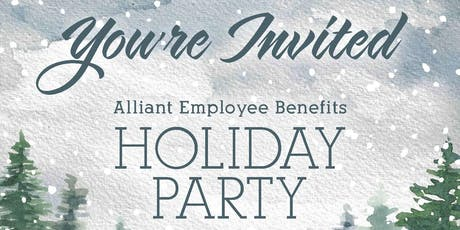 Alliant Alaska Holiday Party 2019 tickets