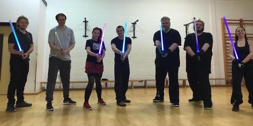 Light Saber Fencing Discovery Session - Manchester