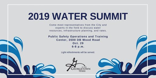 2019 Water Summit