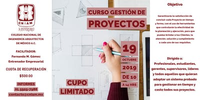 Curso: Gestión de Proyectos