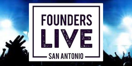 Founders Live San Antonio October Event