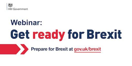 Life Sciences - Brexit Readiness Webinar - Wave 4