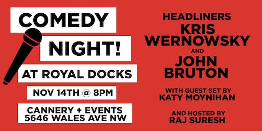 Comedy Night at Royal Docks! - Cleveland Comedy Fest