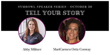 """""""Tell Your Story"""" Speaker Series - Oct 30th tickets"""