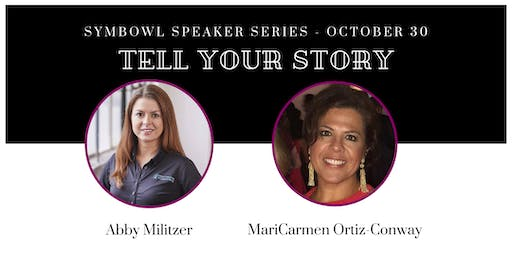 """Tell Your Story"" Speaker Series - Oct 30th"