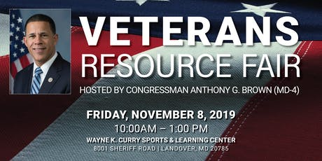 Veterans Resource Fair Hosted by Congressman Brown tickets