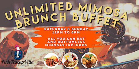 Unlimited Mimosa Brunch Buffet By Pink Teacup On South Beach from Hustle & Soul tickets
