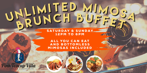 Unlimited Mimosa Brunch Buffet By Pink Teacup On South Beach from Hustle & Soul
