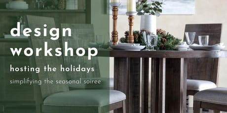 Design Workshop: Hosting Holidays tickets