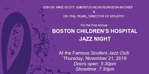Jazz Night Fundraiser for Boston Children's Hospital