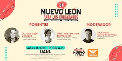 Un Nuevo Leon para los ciudadanos: órganos ciudadanos y órganos autónomos
