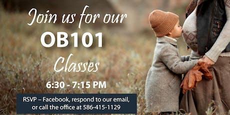OB101 Classes tickets