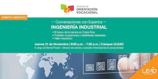 Conversaciones con expertos - Ingeniería Industrial
