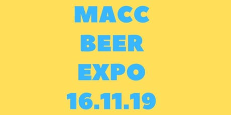 Macc Beer Expo 2019 tickets