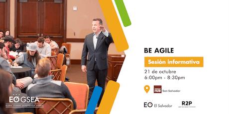 EO GSEA - Be Agile  (Sesión informativa) entradas