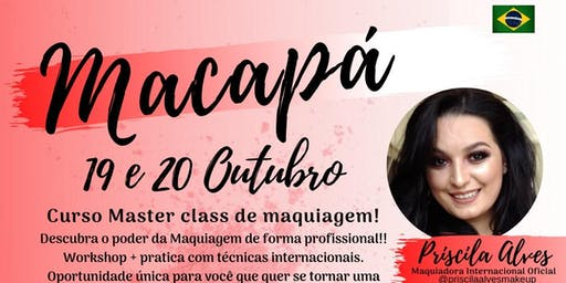 MASTER CLASS DE MAQUIAGEM - MACAPÁ AP