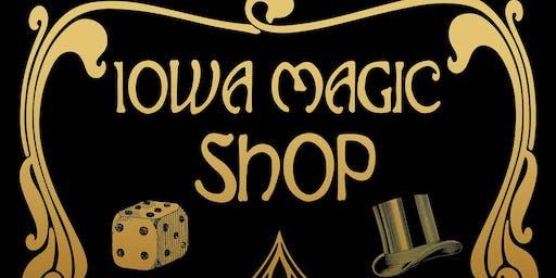 Mom Scouts at the Iowa Magic Shop