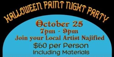 Halloween Paint Night Party tickets