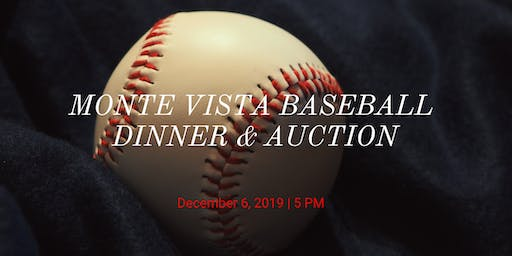 Monte Vista Baseball Dinner & Auction
