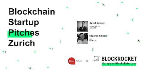 Blockchain Startup Pitches - Zürich bilhetes