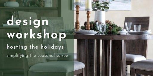 Design Workshop: Hosting Holidays