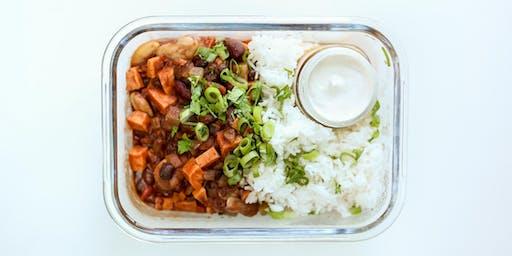 Cooking Class: Sweet Potato Chili, Cashew Sour Cream & A Date Power Bites