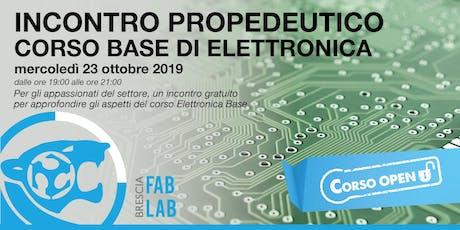 Corso Base di Elettronica | Serata gratuita di introduzione tickets