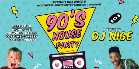 90's House Party tickets